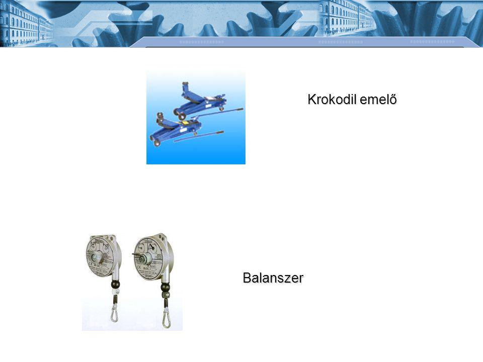 Krokodil emelő Balanszer