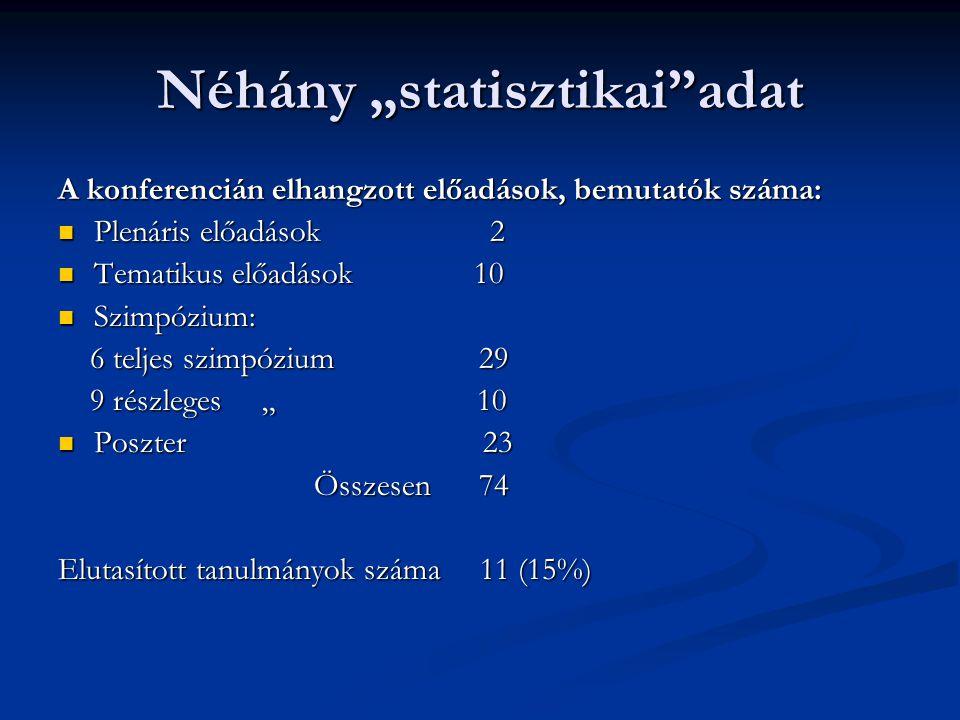 """Néhány """"statisztikai adat"""