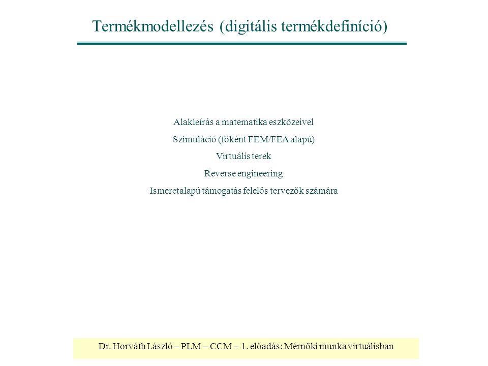 Termékmodellezés (digitális termékdefiníció)