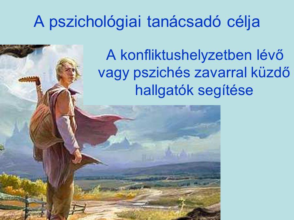 A pszichológiai tanácsadó célja