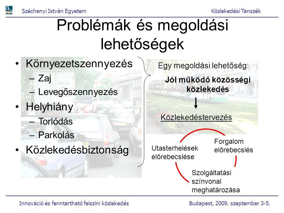 Problémák és megoldási lehetőségek