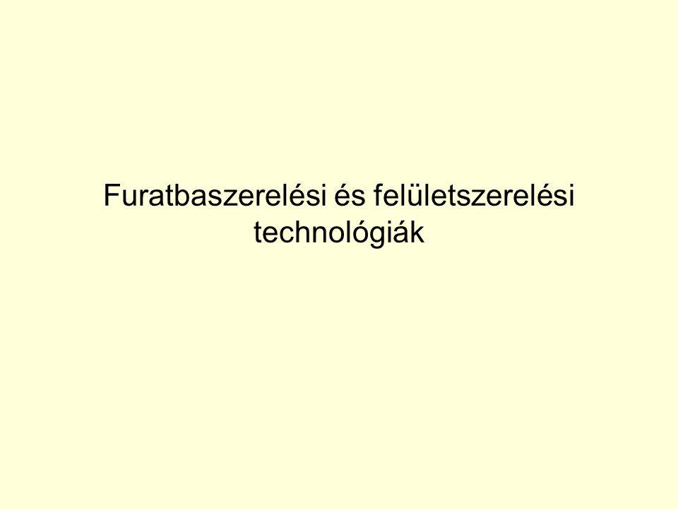 Furatbaszerelési és felületszerelési technológiák