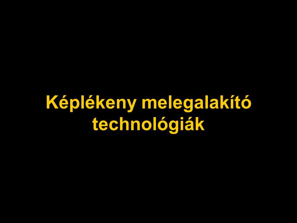 Képlékeny melegalakító technológiák