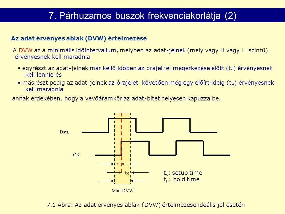 7. Párhuzamos buszok frekvenciakorlátja (2)