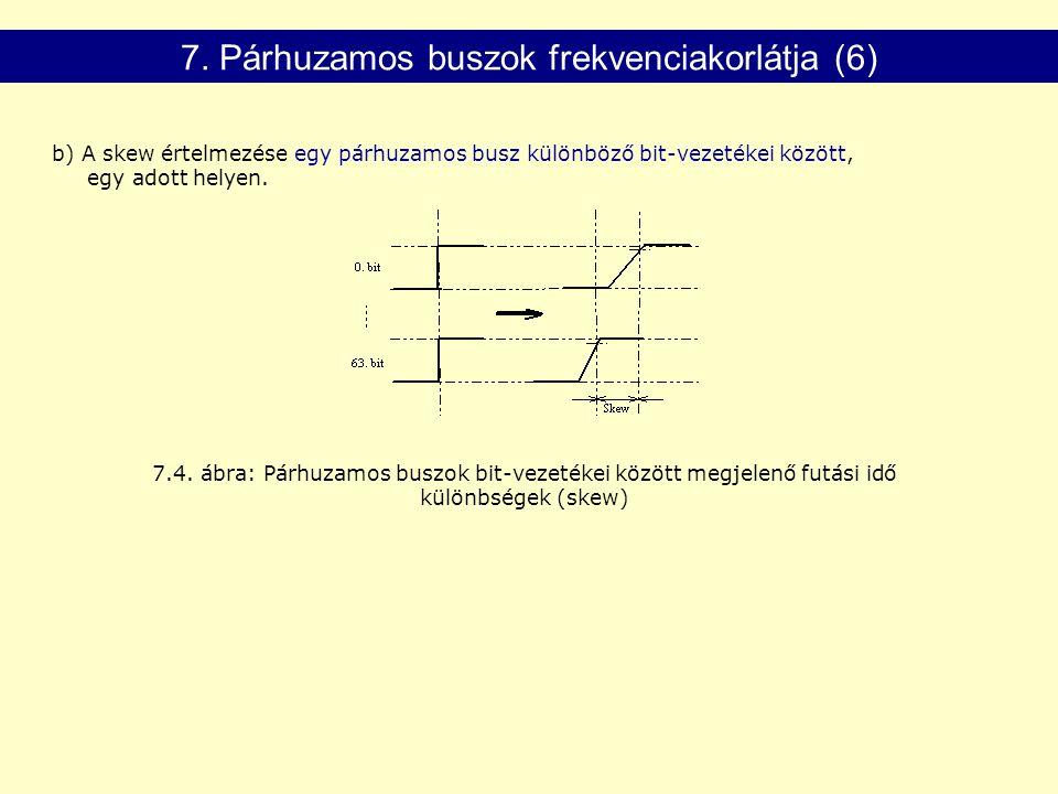 7. Párhuzamos buszok frekvenciakorlátja (6)