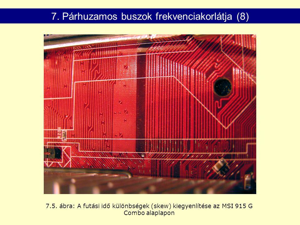 7. Párhuzamos buszok frekvenciakorlátja (8)