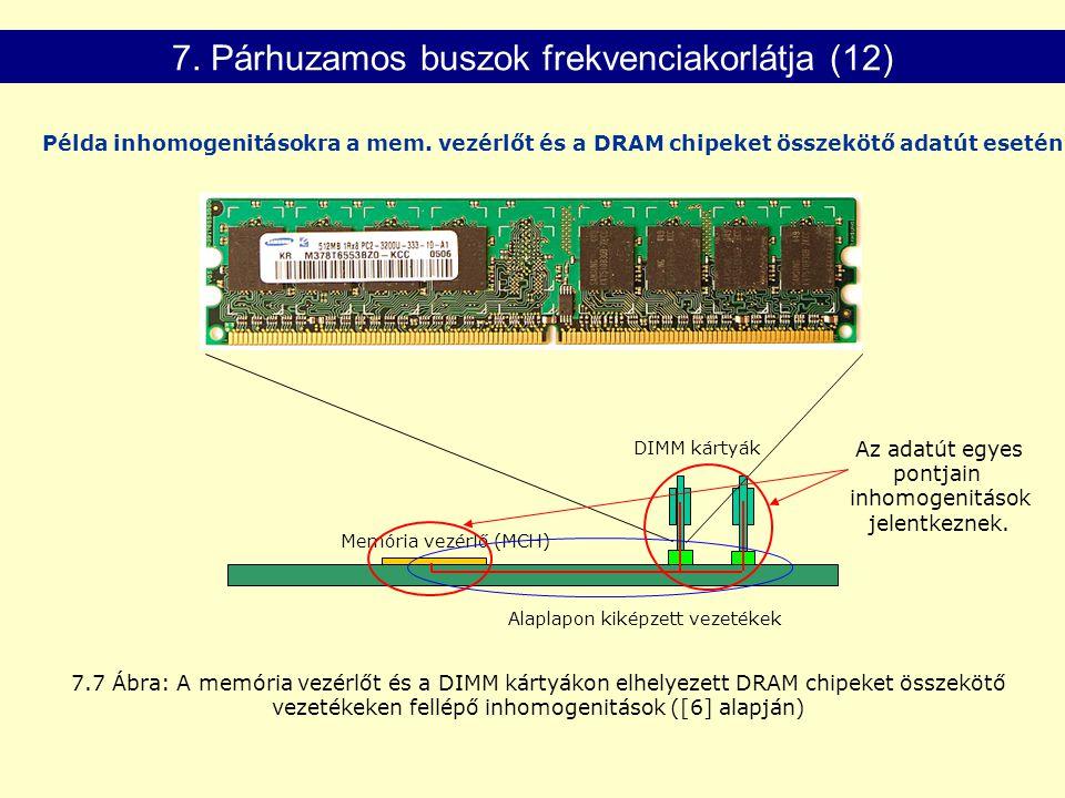 7. Párhuzamos buszok frekvenciakorlátja (12)