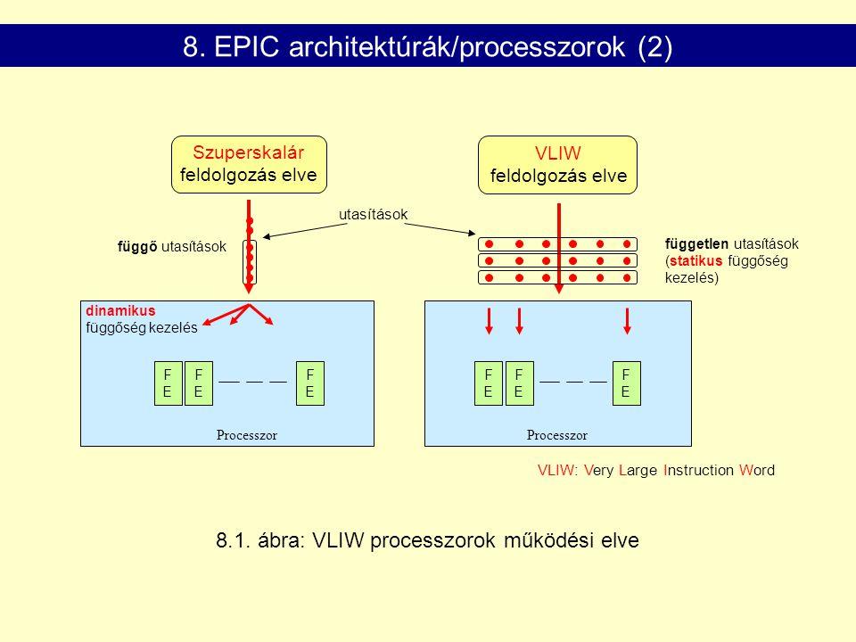 8. EPIC architektúrák/processzorok (2)