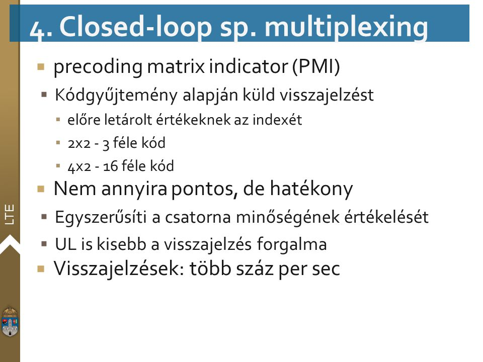 4. Closed-loop sp. multiplexing