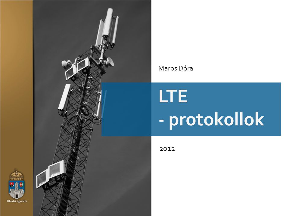 Maros Dóra LTE - protokollok 2012