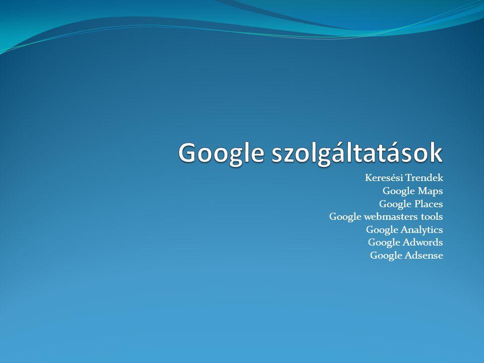 Google szolgáltatások