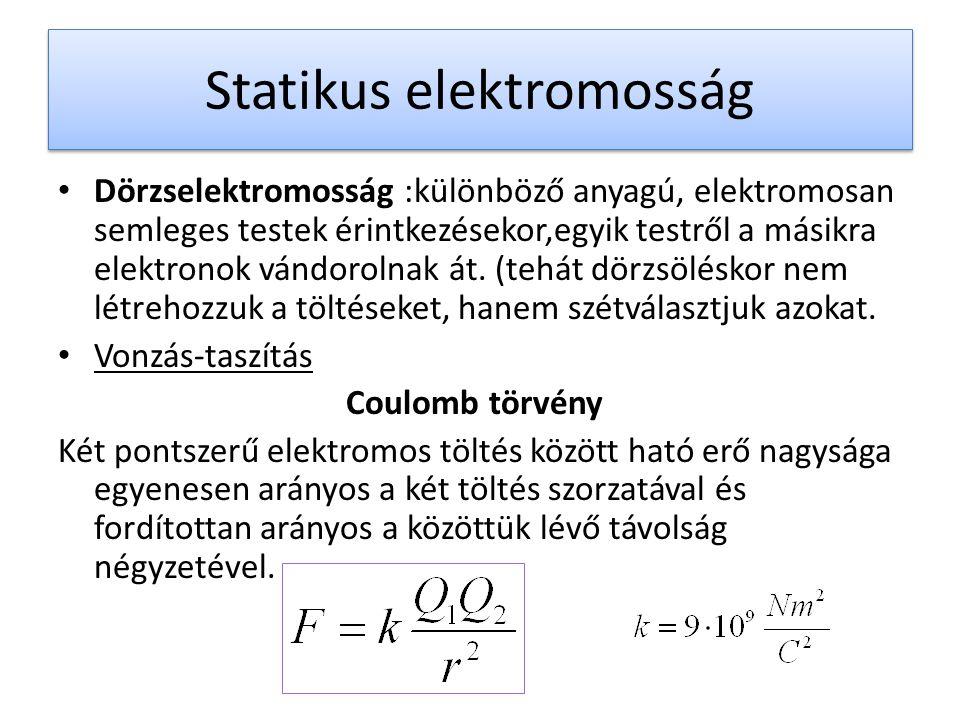 Statikus elektromosság