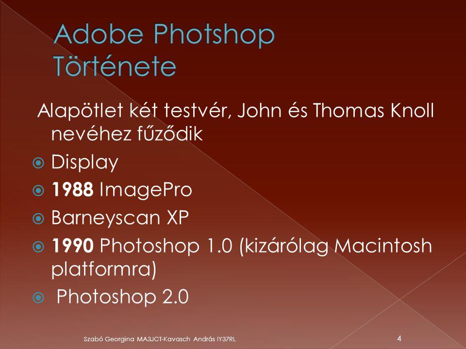 Adobe Photshop Története