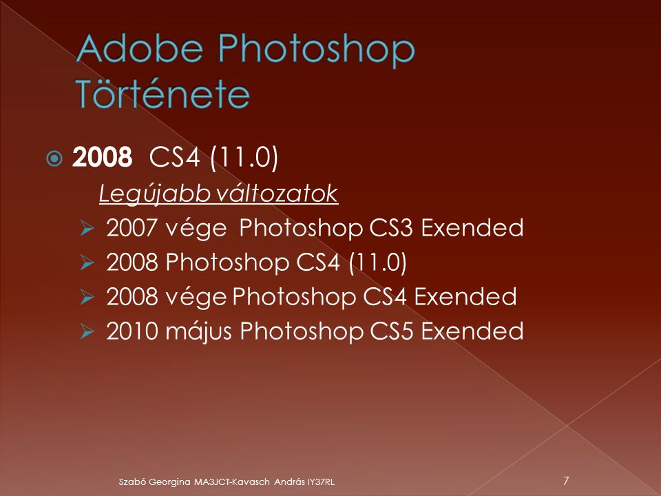 Adobe Photoshop Története