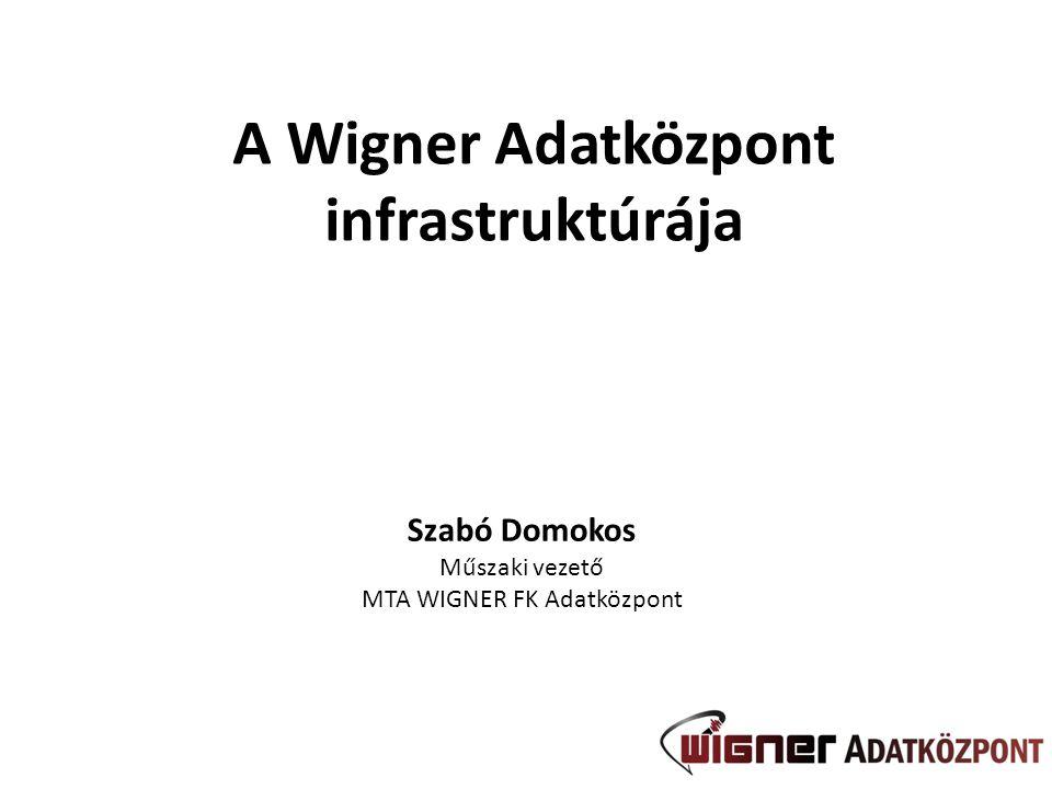A Wigner Adatközpont infrastruktúrája