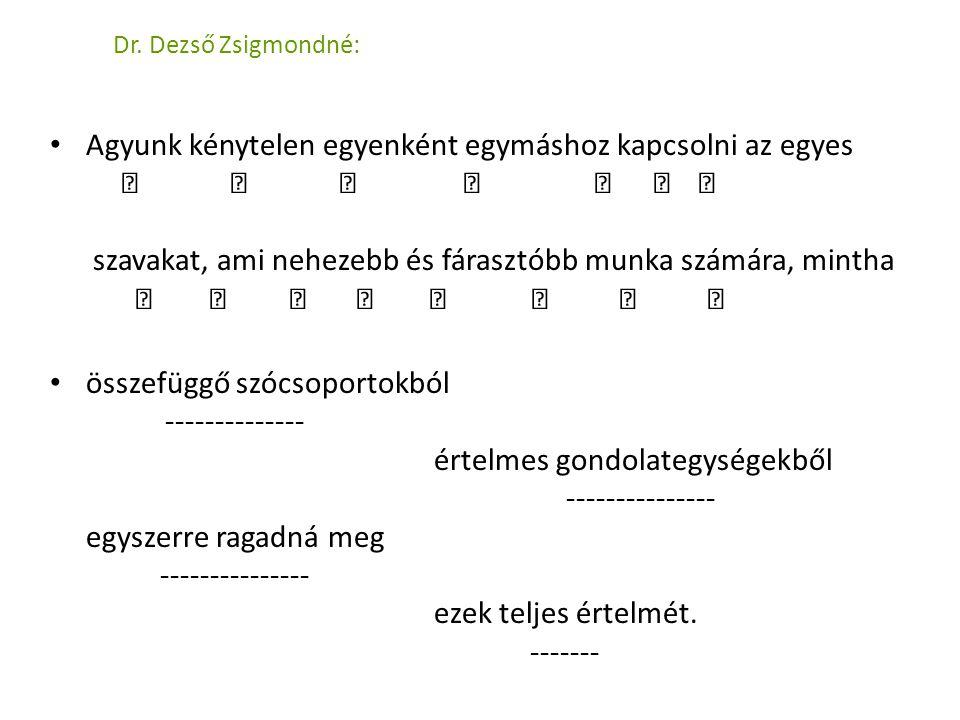 Dr. Dezső Zsigmondné: