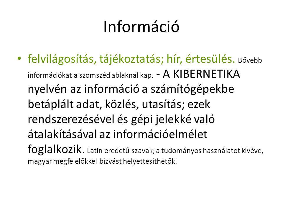 Információ