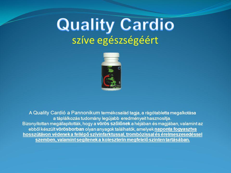 Quality Cardio szíve egészségéért