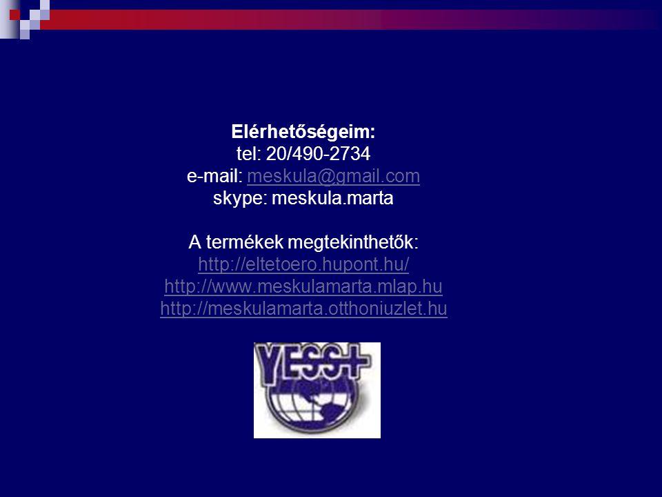 Elérhetőségeim: tel: 20/490-2734 e-mail: meskula@gmail