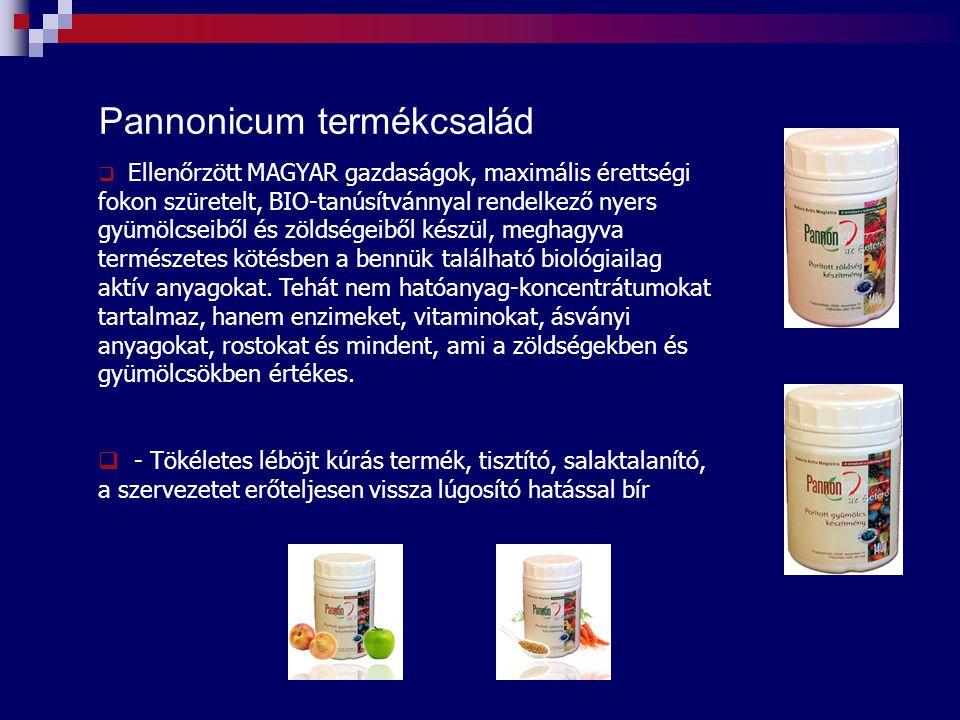 Pannonicum termékcsalád