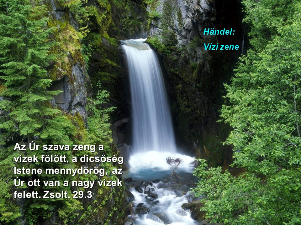 Händel: Vízi zene.