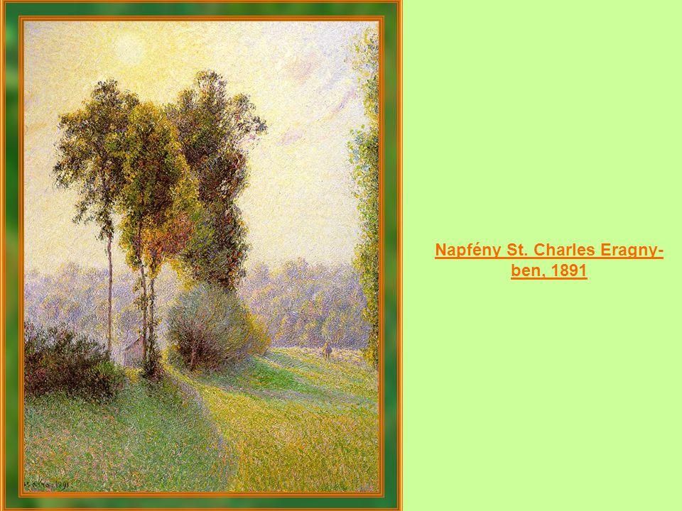 Napfény St. Charles Eragny-ben, 1891