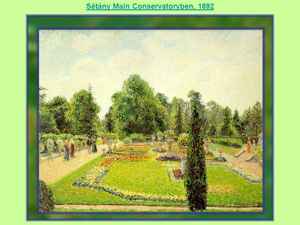 Sétány Main Conservatoryben, 1892