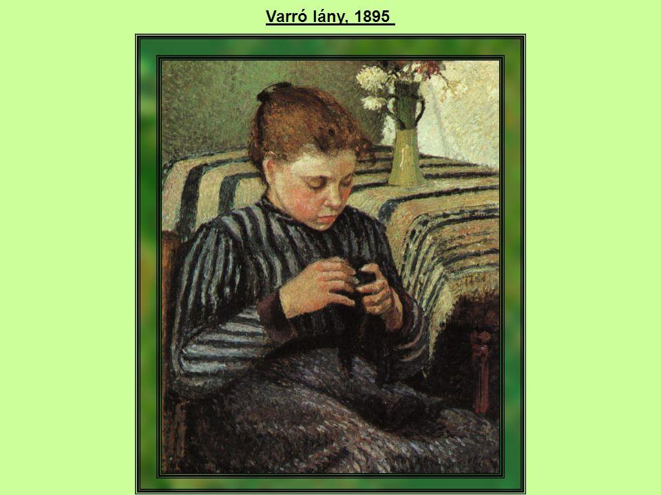 Varró lány, 1895