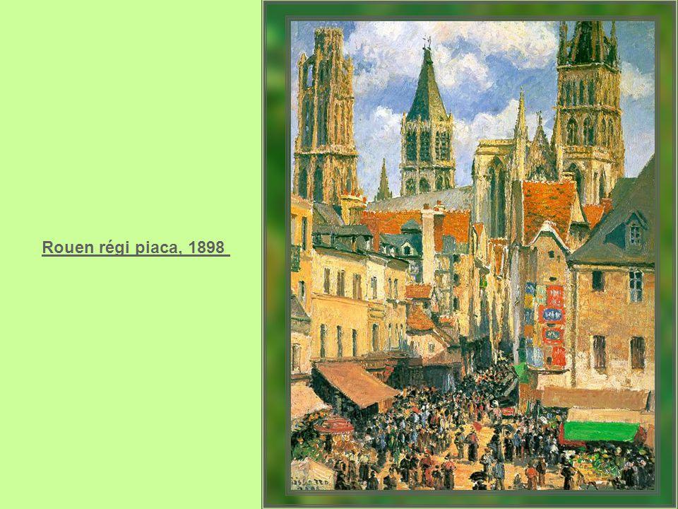 Rouen régi piaca, 1898