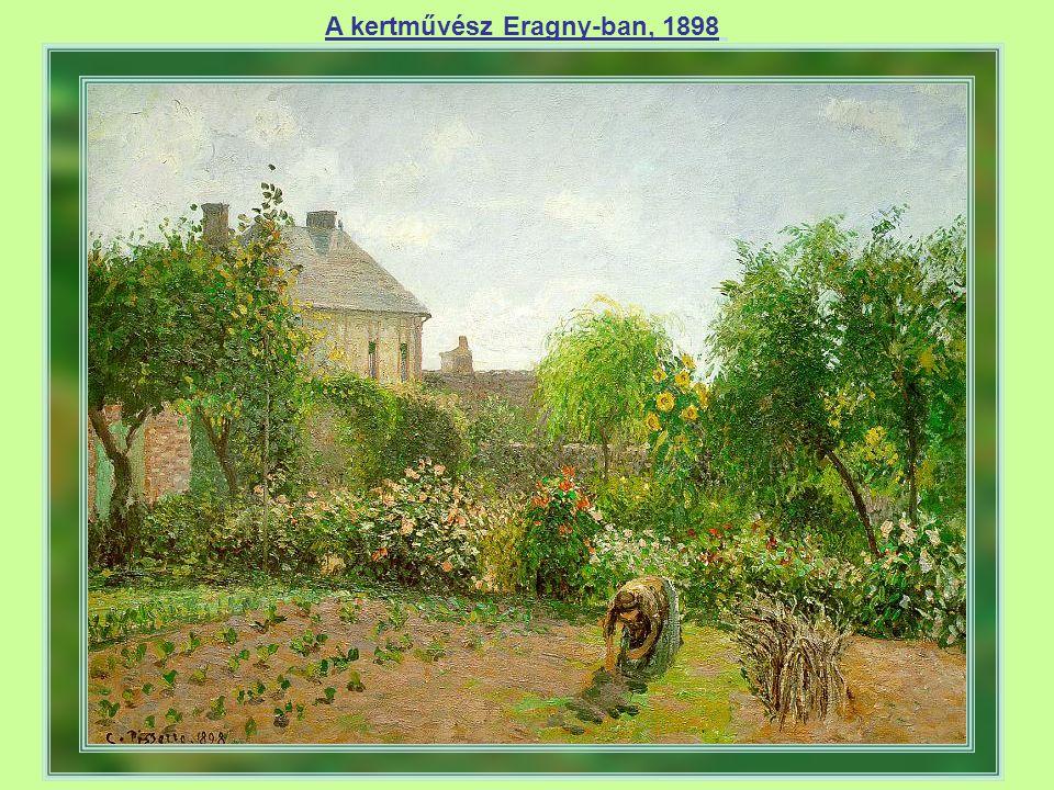 A kertművész Eragny-ban, 1898