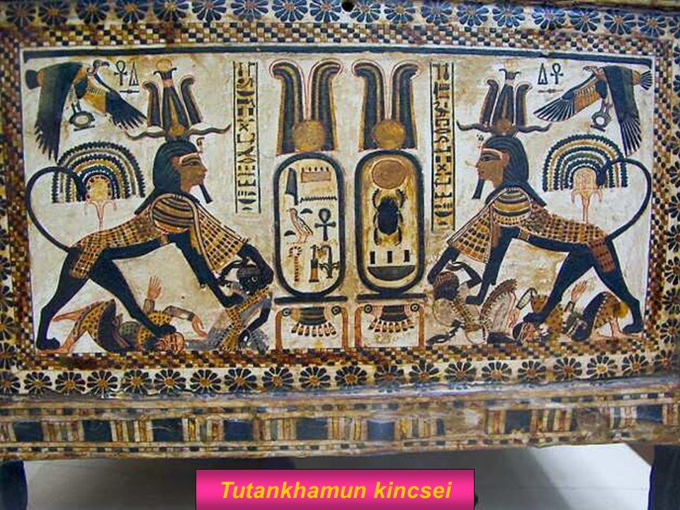 Tutankhamun kincsei