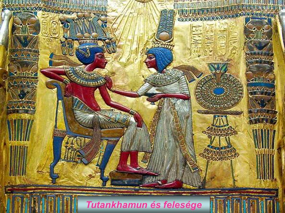 Tutankhamun és felesége
