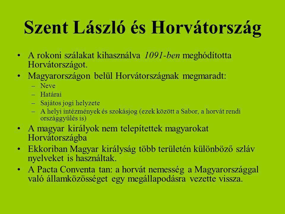 Szent László és Horvátország