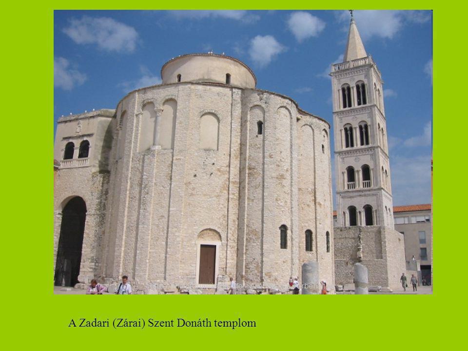A Zadari (Zárai) Szent Donáth templom