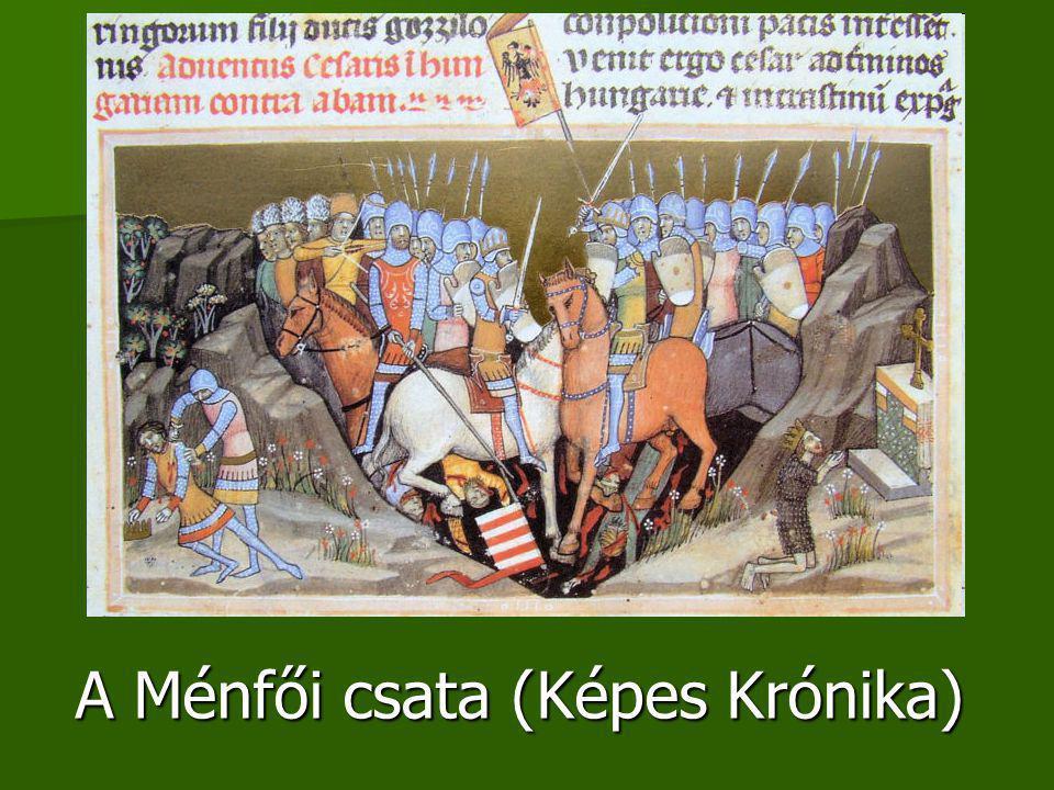 A Ménfői csata (Képes Krónika)