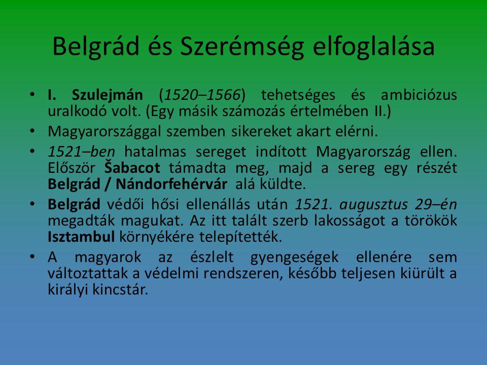 Belgrád és Szerémség elfoglalása