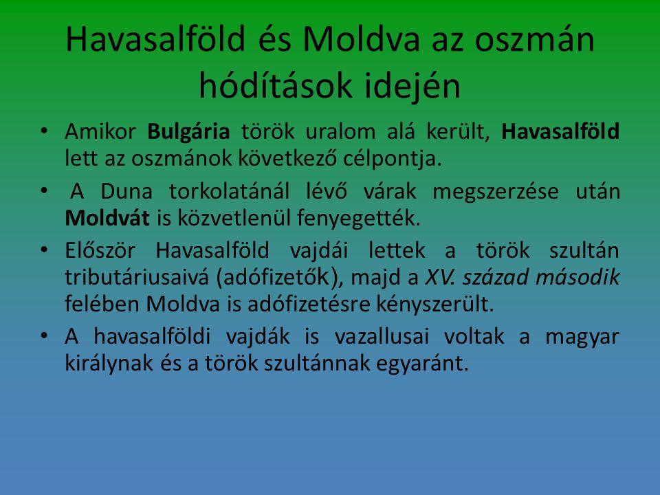 Havasalföld és Moldva az oszmán hódítások idején