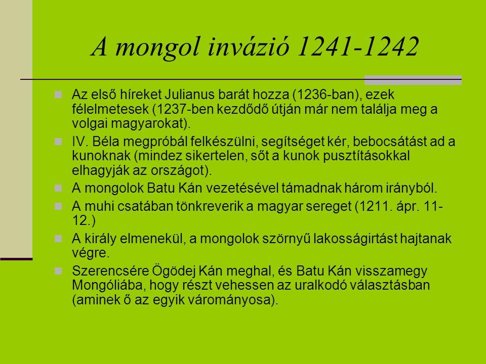 A mongol invázió 1241-1242