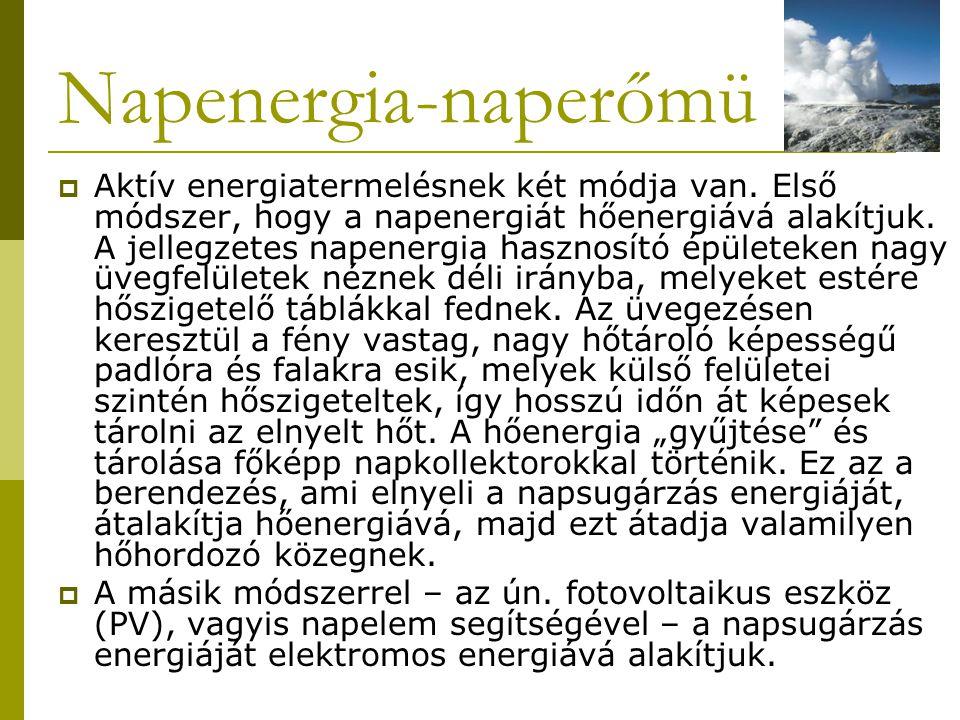 Napenergia-naperőmü