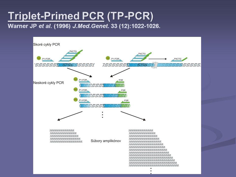 Triplet-Primed PCR (TP-PCR) Warner JP et al. (1996) J. Med. Genet