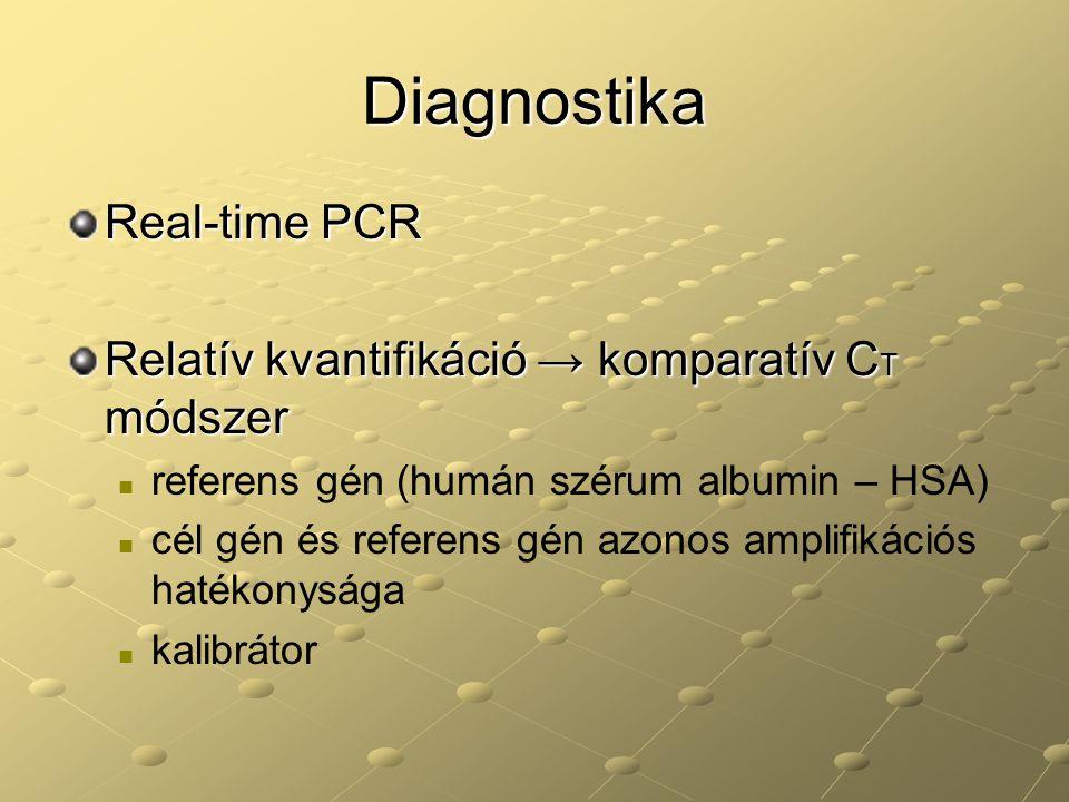 Diagnostika Real-time PCR
