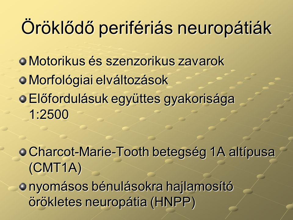 Öröklődő perifériás neuropátiák