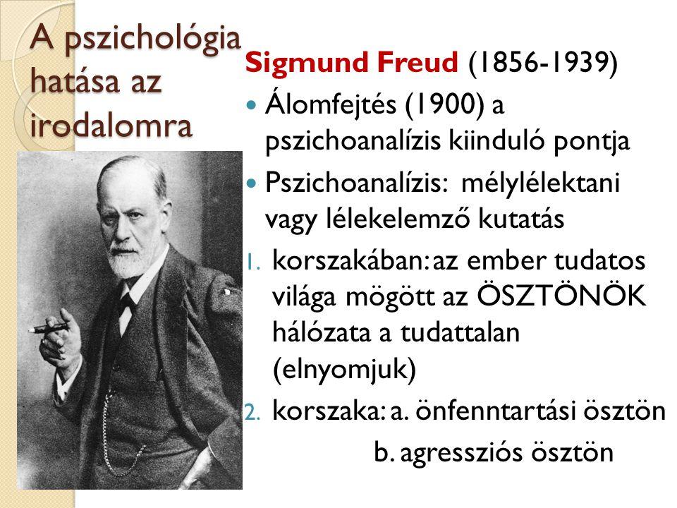 A pszichológia hatása az irodalomra
