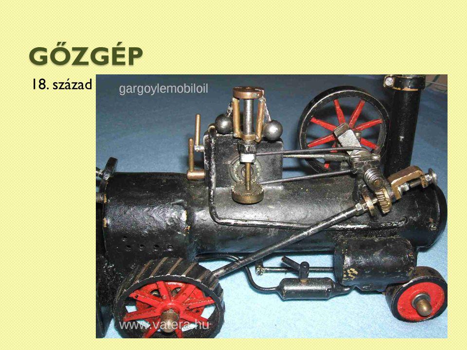 gőzgép 18. század