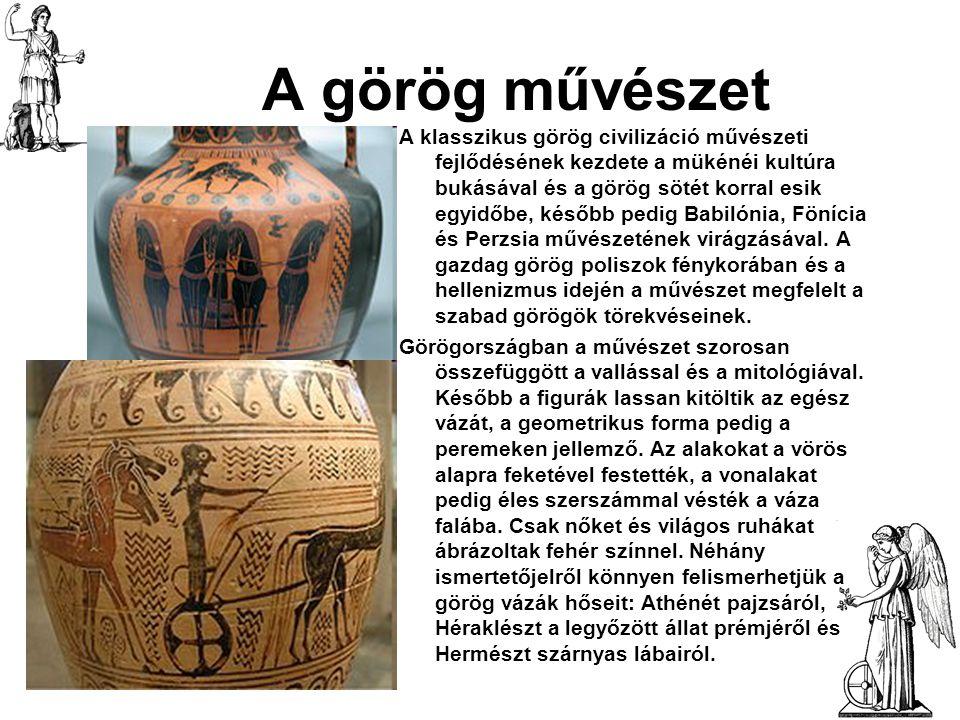 A görög művészet