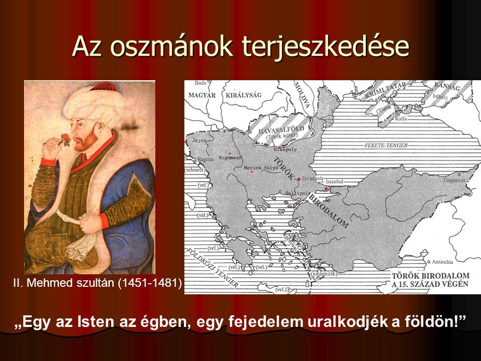 Az oszmánok terjeszkedése