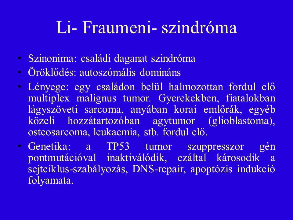 Li- Fraumeni- szindróma