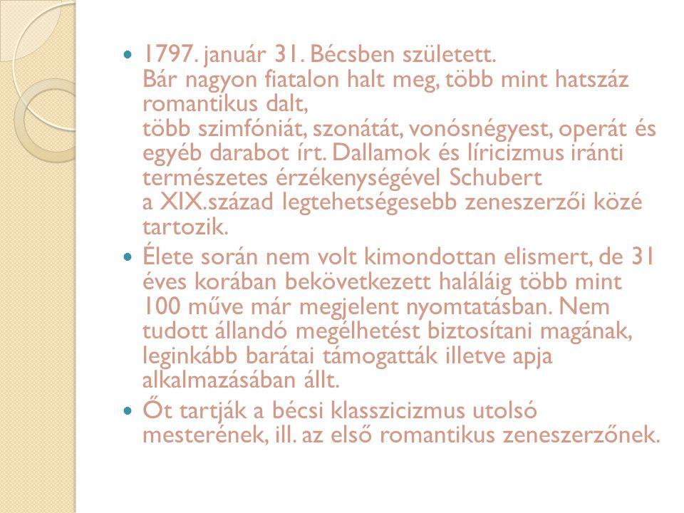 1797. január 31. Bécsben született