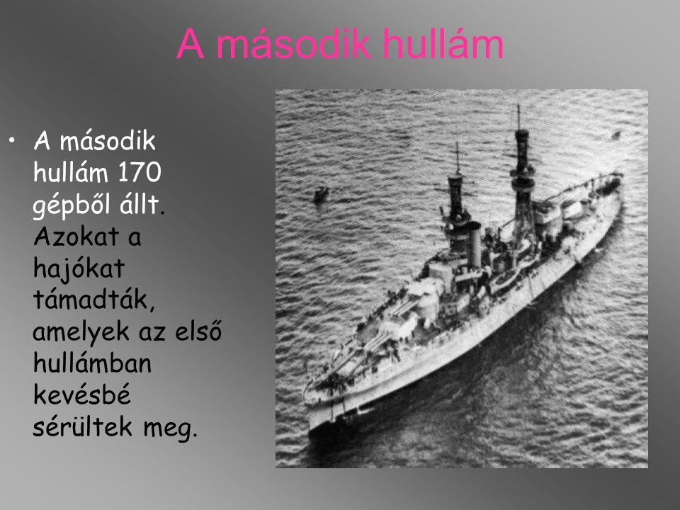 A második hullám A második hullám 170 gépből állt.