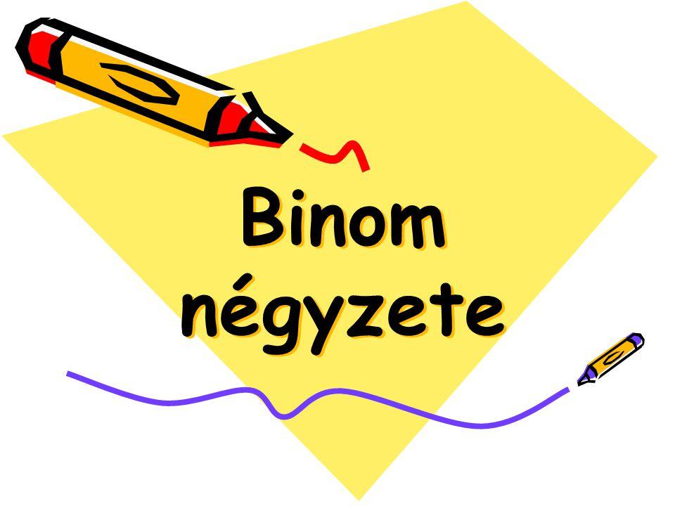 Binom négyzete